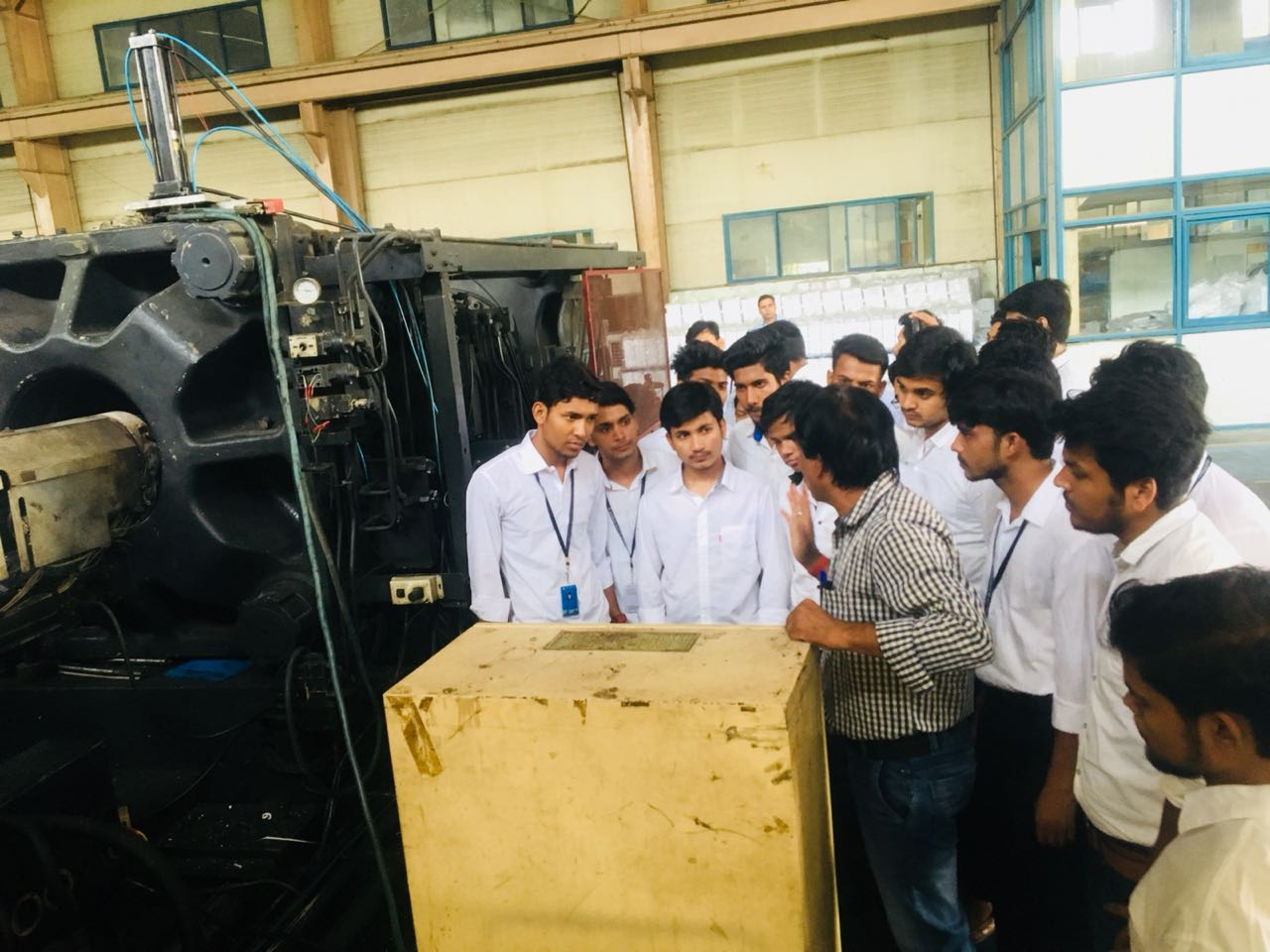 Mechanical Engineering Department Industrial Visit