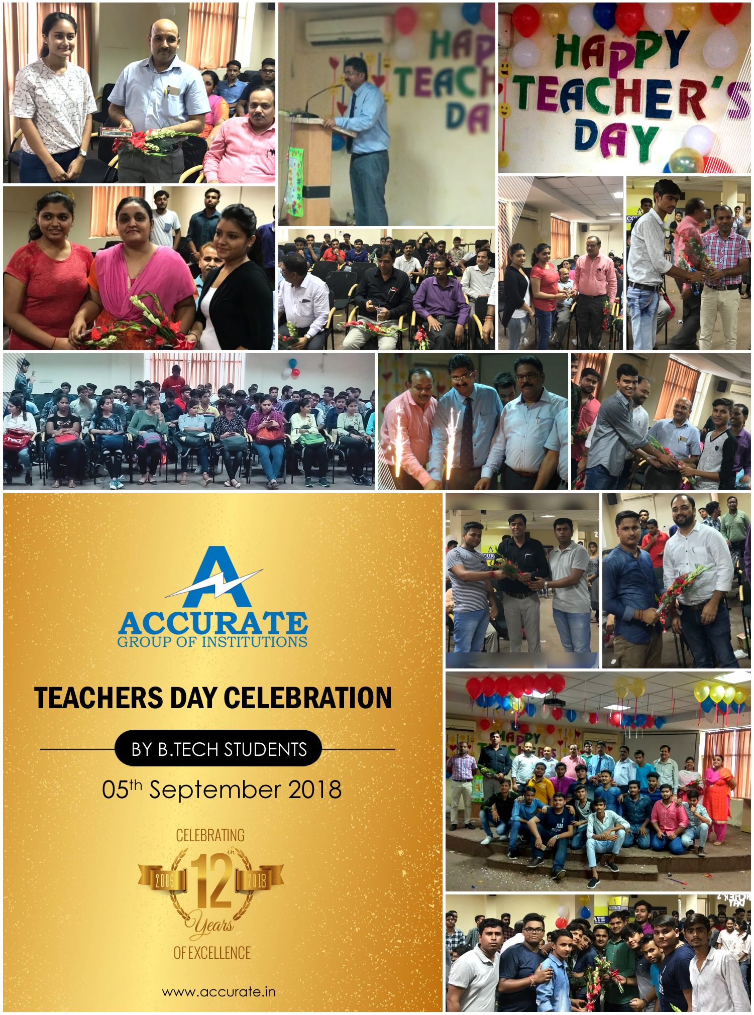 Teachers Day B.Tech