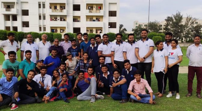 Sports Activity in Campus to Inculcate Sportsmen Spirit in Students