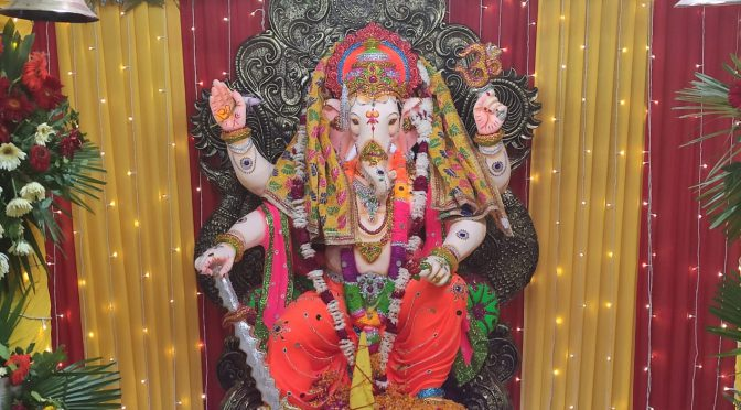 GANPATI UTSAV CELEBRATION IN ACCURATE