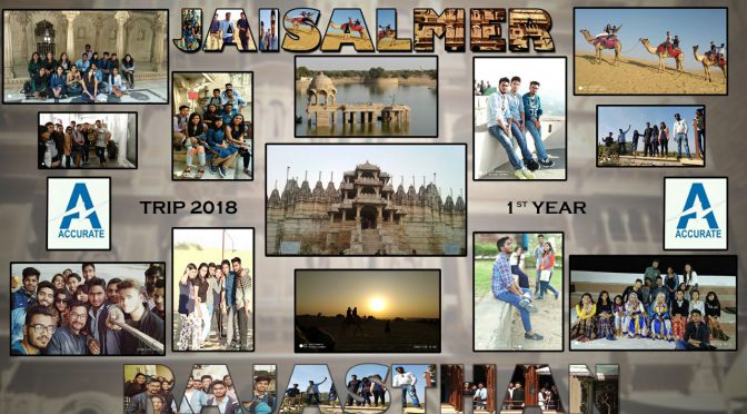 EDUCATIONAL COLLEGE TRIP AT UDAIPUR & JAISALMER