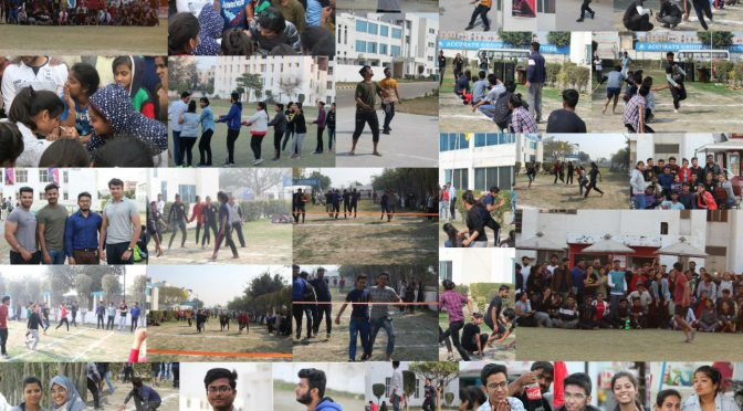 SPORTS DAY CELEBRATED AT ACCURATE INSTITUTE OF ARCHITECTURE & PLANNING