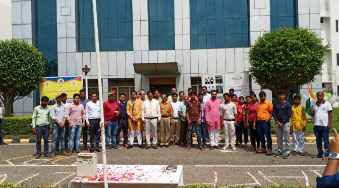 INDEPENDENCE DAY CELEBRATION AT ACCURATE INSTITUTE OF ARCHITECTURE & PLANNING