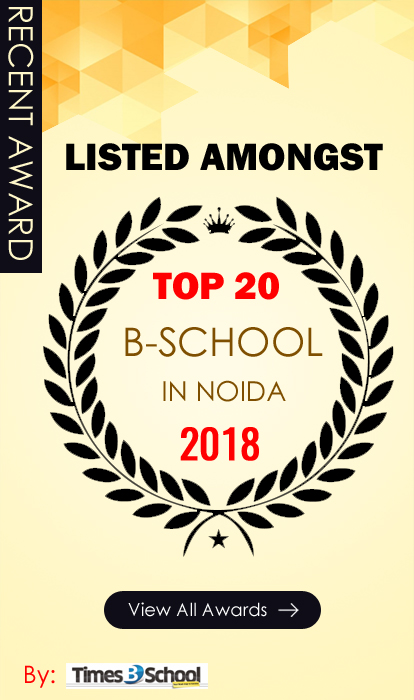 Top B-School in Noida Award