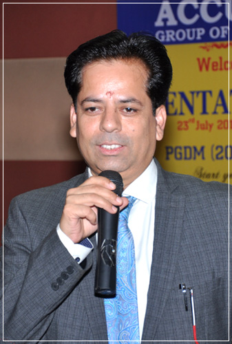 Mr. Nikhil Taneja