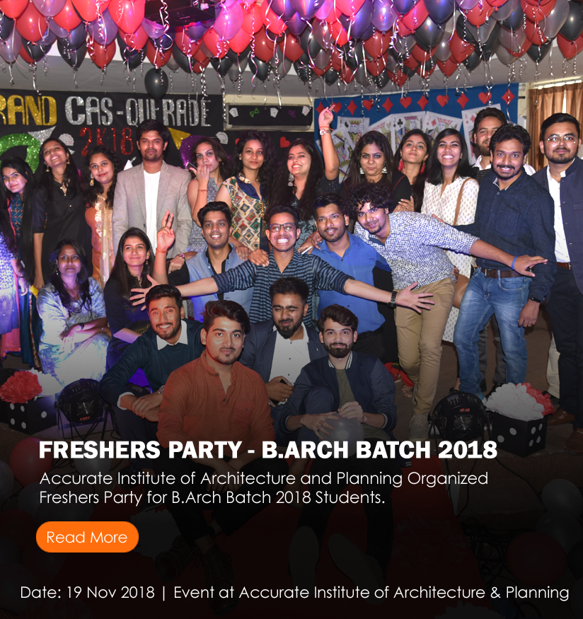 B.Arch Freshers Party